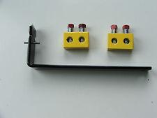 Pair Yellow Torsion Spring Repair Block & Spreader Tool Kit OHD Garage Door Part
