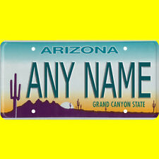 Bicycle license plate - Arizona design, new custom personalized, any name