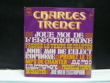 CHARLES TRENET Joue moi de l'électrophone CBS 7957