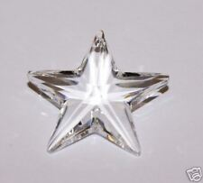 XMAS DECORATIONS CRYSTAL STAR PENDANT GIFT