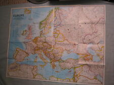 THE NEW EUROPE MAP National Geographic December 1992