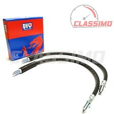 Front Flexi Brake Hose Pair for FORD GRANADA MK 1 - 1972-1977 - Quinton Hazell