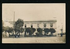 Mexico German American Hotel used c1915 RP PPC
