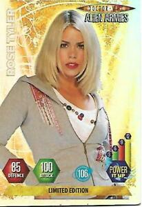 Doctor Who Alien Armies Limited Edition Rose Tyler - PANINI  - RARE