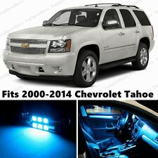 14 x Premium ICE BLUE LED Lights Interior Package Upgrade for Chevy Tahoe