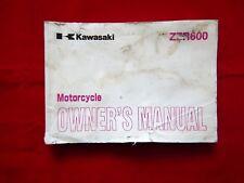 2005 KAWASAKI ZZR600 OWNERS MANUAL 99986-1323 2006 ZX600E6F