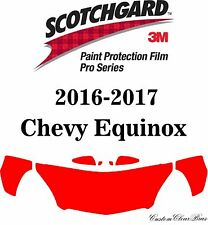 3M Scotchgard Paint Protection Film Pro Series Pre-Cut 2016 2017 Chevy Equinox