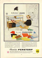 "original large colour advert "" in a word perstorp ( swedish )  "" 1959"