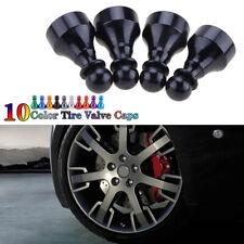 1Set Car Tire Tyre Black Wheel Air Port Dust Cover Ventil Valve Stem Caps Chess