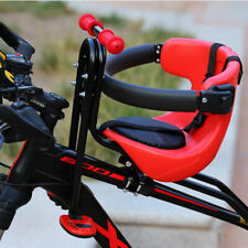 Bicycle Baby Chair Safety Carrier Front Seat Saddle Toddler Cushion Back Rest US