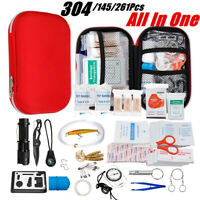 SOS Emergency Survival Equipment Kit Outdoor Sports Tactical Hiking Camping ↑