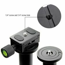 Clamp Quick Release Plate 30MM for Camera Monopod Ball Tripod Head Adapter