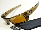 Oakley Gascan S Brown Smoke Text Sonnenbrille Monster Dog Fuel Cell Holbrook RPM