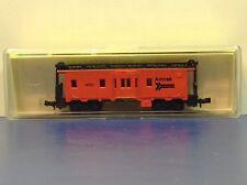 "N Scale ""Amtrak"" 14000 Bay Window Freight Train Caboose / Model Power Brand"