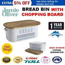 Jamie Oliver Bread Bin With Chopping Board Lid
