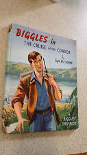 BIGGLES IN THE CRUISE OF THE CONDOR capt.w.e.johns HB ( a biggles strip book)