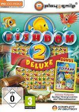 Fishdom 2 Deluxe und Holiday Edition Wimmelbild Spiel für Pc Neu/Ovp/Deutsch