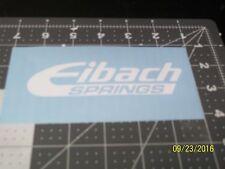 "Eibach Springs 5"" Vinyl Decal sticker laptop windows wall car boat"