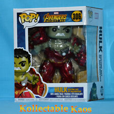 Funko Pop Marvel Avengers Infinity War Hulk 306 Busting out of Hulkbuster Excl