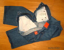 HUGO BOSS ORANGE HB1 US MEN'S DISTRESSED RELAXED STRAIGHT JEANS SIZE 34 X 34