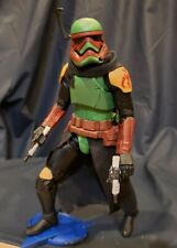 "Star Wars Custom Black Series 6"" First Order Fett Trooper by Rundown"