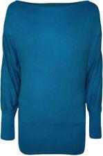 T-shirt, maglie e camicie da donna a manica lunga blu taglia 38