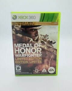 Medal of Honor: Warfighter -- Limited Edition (Microsoft Xbox 360, 2012) #C