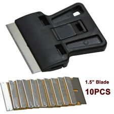 Mini Razor Scraper W/ 10 Razor Blades Carbon for Film Tint & Wrap Oven Removal