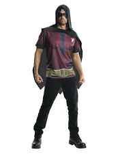 "Robin Costume Top, Mens Arkham City, Larg,CHEST 42-44"",WAIST 34-36"",INSEAM 33"""