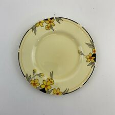 Stunning Crown Ducal Sunburst Side Plate 7 Inches   Art Deco 1920's