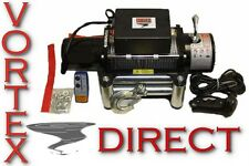 NEW VORTEX 8500 LB Pound Recovery Winch Bonus Package! 2 remotes