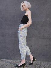 OKAY Jeans Hose abstraktes Muster high waist 90er TRUE VINTAGE 90s denim pants