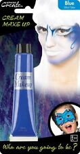 28ml Cream Face & Body Paint Fancy Dress Party Make Up Accessory - Blue