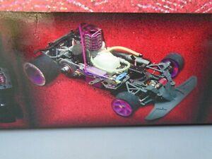 Team magic vampire 1/10 2wd pro on road nitro rc car mugen new Serpent BMT