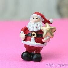 Sitting Santas - Too Cute! - Set of 4