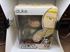 DUKE Mighty Muggs action figure GI Joe ARAH Hasbro 2008