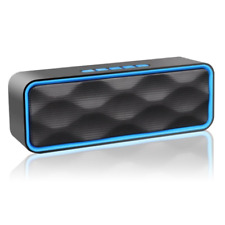 Portable Bluetooth Speaker, Aigoss Outdoor Wireless Speaker with HD Audio and E