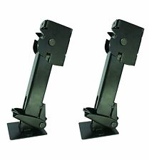 650 Lb Trailer Stabilizer Jack - 6.25 Inch Lift - Black Finish - Pair