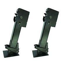 650 Lb Trailer Stabilizer Jack - 6.25 Inch Lift - Black Finish - Pair