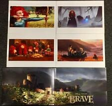 Disney Store Set of 4 BRAVE Limited Edition Art Lithographs w/ Litho Folder