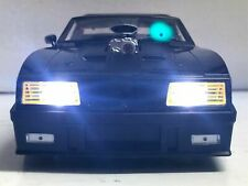 """Mad Max"" Ford Falcon XB INTERCEPTOR 1973 Last V8 POLICE WORKING LIGHTS 1/18 ut"