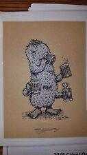 """Marq Spusta Morris Screen N Suds fine art print 5x7"""" mini kraft paper variant"""
