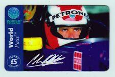 Johnny Herbert Sauber Petronas Cock-pit Shot Phone Card