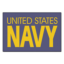 """US Navy USN Door Mat Carpet Floor Rug 20"""" x 30"""" Military Wall Hanging New"""