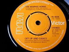 "THE MEMPHIS HORNS - GET UP AND DANCE  7"" VINYL"