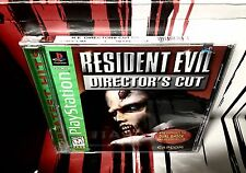 •NEW, SEALED• RESIDENT EVIL DIRECTOR'S CUT Green Label •PS1 PlayStation 1•