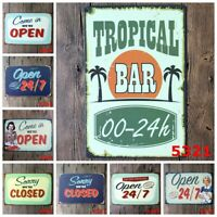 Come in We are Open Wall Hanging Signs Sorry We are Closed Cafe Home Hotel Decor