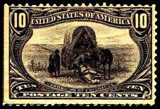 US.#290 .10c Trans-Miss Issue of 1898 - OGLH - F/VF - CV$100.00 (ESP#0869)