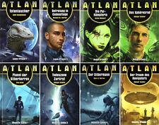 Bundle-8 x STERNENABENTEUER-ATLAN-Science-Fiction Romane-SiFi-neu