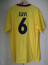 mens XAVI NO.6 BARCELONA FOOTBALL CLUB NIKE SHIRT SIZE XL